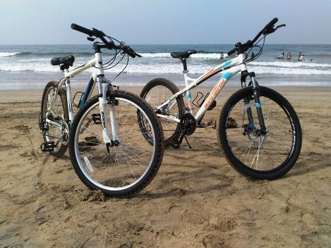 bike on rent ganpatipule